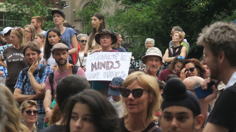 What We Wore: Stop Adani Rally for theFuture