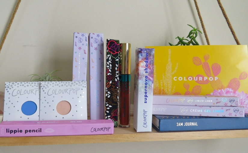 ColourPop Haul '19